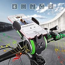 Altavoz Bluetooth,UPPEL Bluetooth Speaker, Altavoces Portatiles Bici Bluetooth V4.0 Altavoz+4400mAh Banco de energía+Luces+Timbre+Soporte telefónico+Manos Libres Llamadas 6 en 1 Diseño Multifuncional