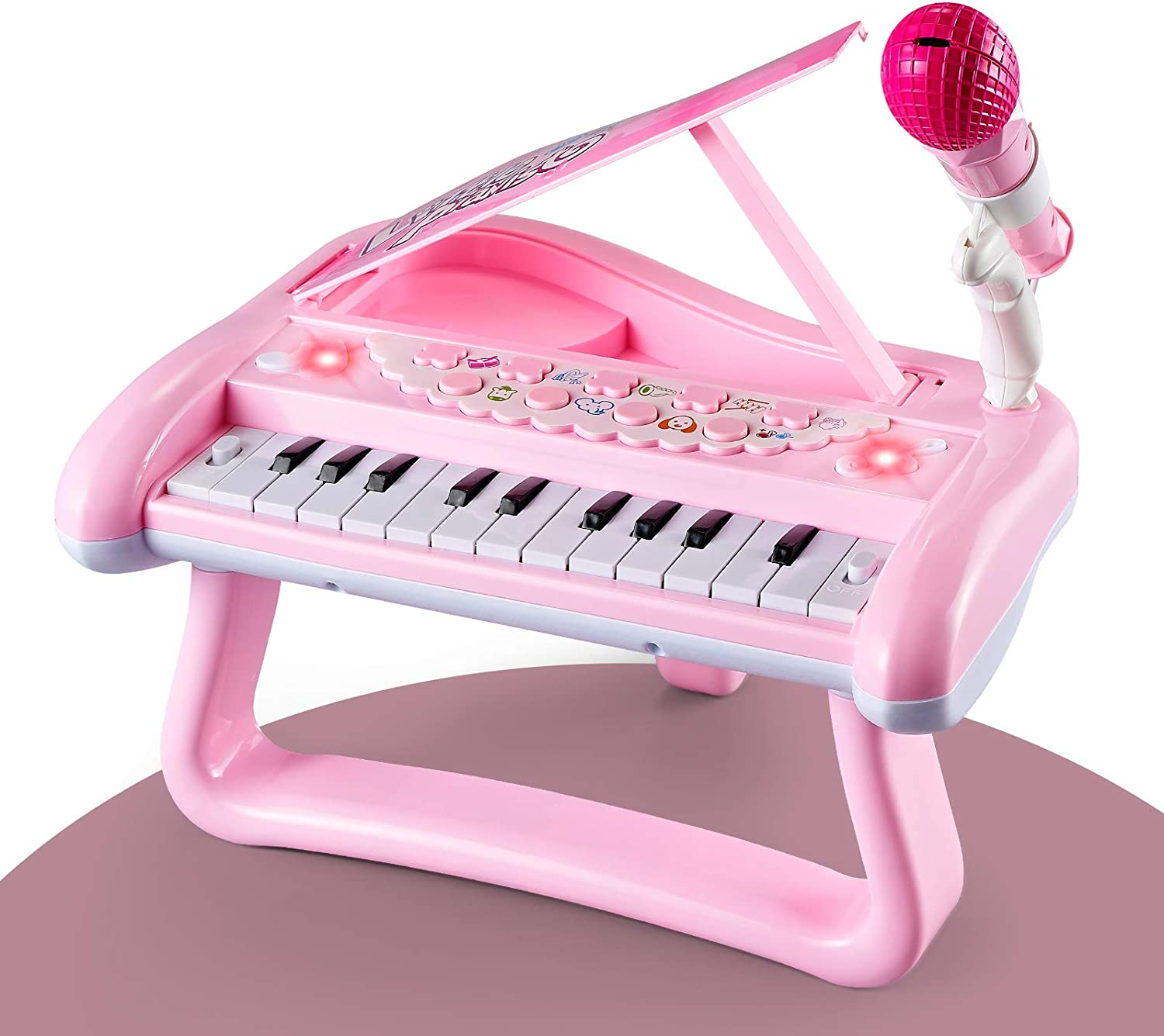 ZMZS First Birthday Toddler Piano 5 ☆ popular Toys for Girls Year online shopping Bab 1 Old