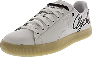 PUMA Clyde Signature Ice Junior Ankle-High Leather Fashion Sneaker