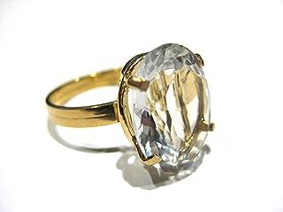 anillo Citrina Oro 750% (18 k)