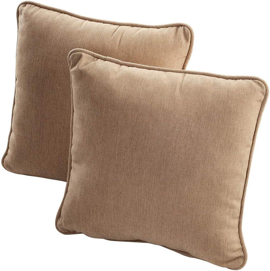 Quality Outdoor Living 69-MR01P Decorative Throw Pillow Burgundy