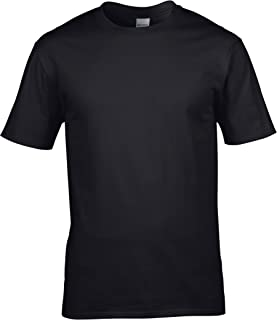 Gildan Mens Premium Cotton Ring Spun Short Sleeve T-Shirt