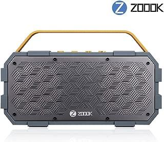 (Renewed) Zoook Rocker Torpedo (50W) Bluetooth Speaker - Grey