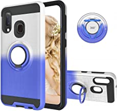 Compatible with Motorola Moto G7 Play Phone Case Europe Version 360 Degree Rotating Ring Holder Stand Armor Heavy Duty Hybrid Bumper Dual Layer Bracket Military Grade Protective Fit Magnet Car Mount