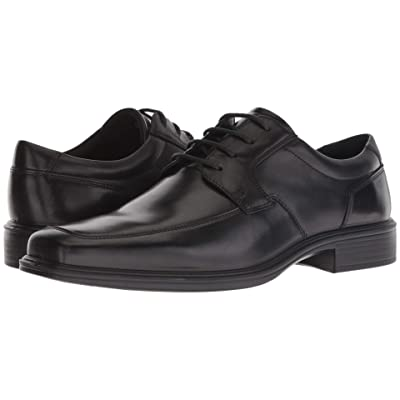 ECCO Minneapolis Apron Tie (Black Leather) Men