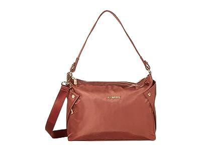 Hedgren Reflect Mini Hobo (Rosewood) Hobo Handbags