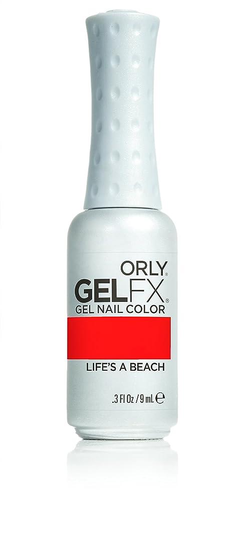 音声学同僚恐竜Orly GelFX Gel Polish - Life's A Beach - 0.3oz/9ml
