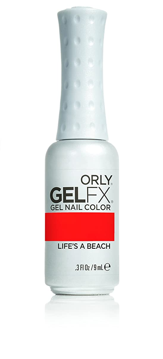 郵便番号マスク中世のOrly GelFX Gel Polish - Life's A Beach - 0.3oz/9ml