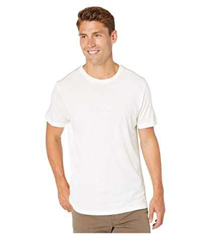RVCA Small RVCA Short Sleeve T-Shirt (Antique White) Men