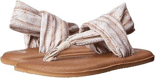 Sanuk femmes s Yoga Sling 2 Natural Multi Tribal Tribal Stripe 7  la meilleure offre de magasin en ligne
