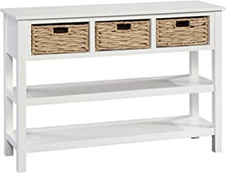 Best console table with wicker baskets Reviews