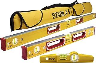 Stabila Classic 196 3 Level Set Includes 48
