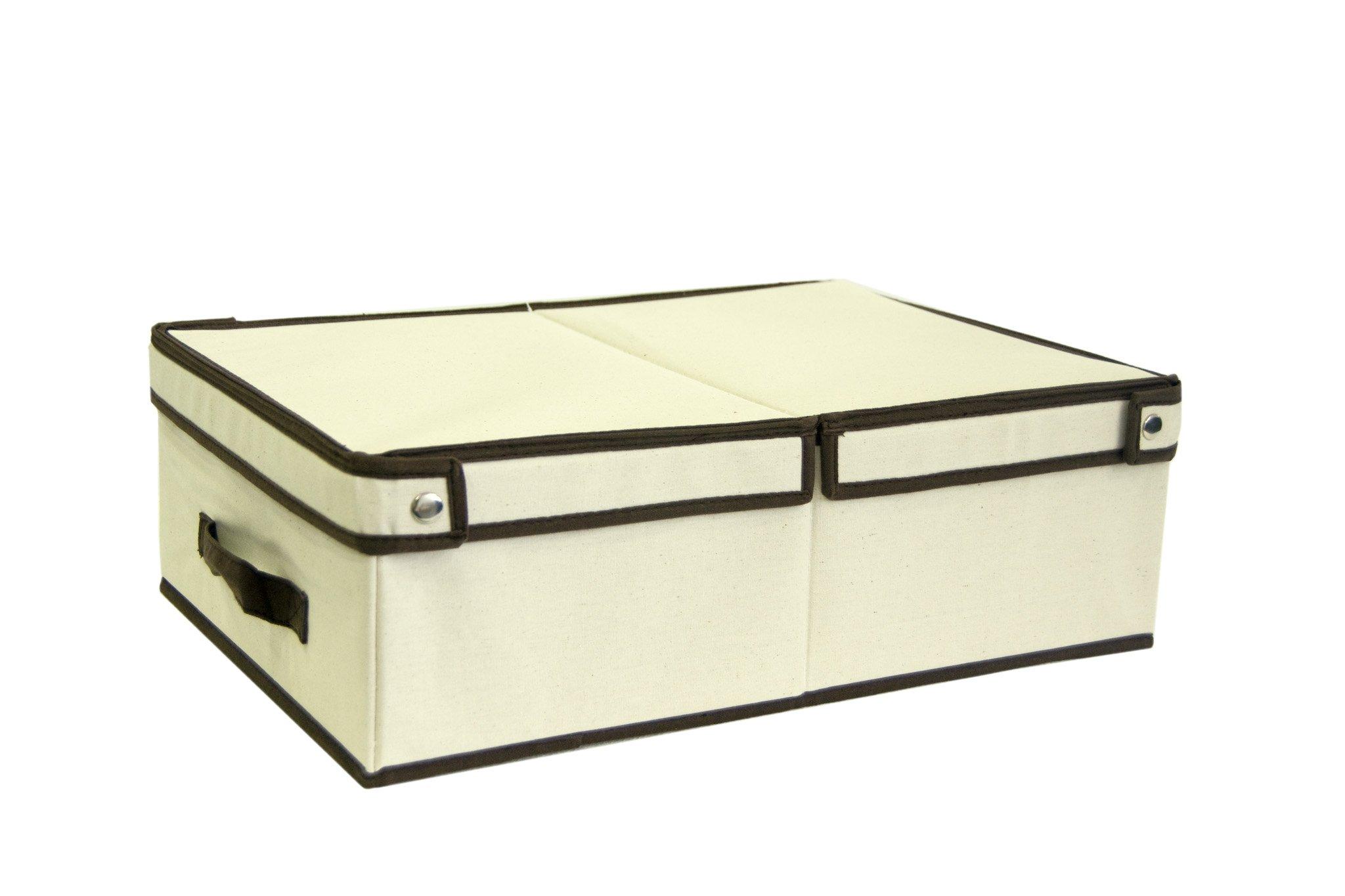Caja Orden Bajo Cama 35x50x16cm: Amazon.es: Hogar