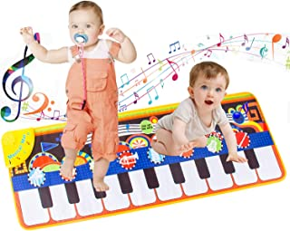 LROTBESY Toys for 1 Year Old Girls Boys, Baby Musical Mats T