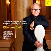 Romantic Works for Cello & Piano By Schubert