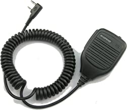 BaoFeng Dual Push-To-Talk (PTT) Speaker Mic for UV-82 Series - Backward Compatible