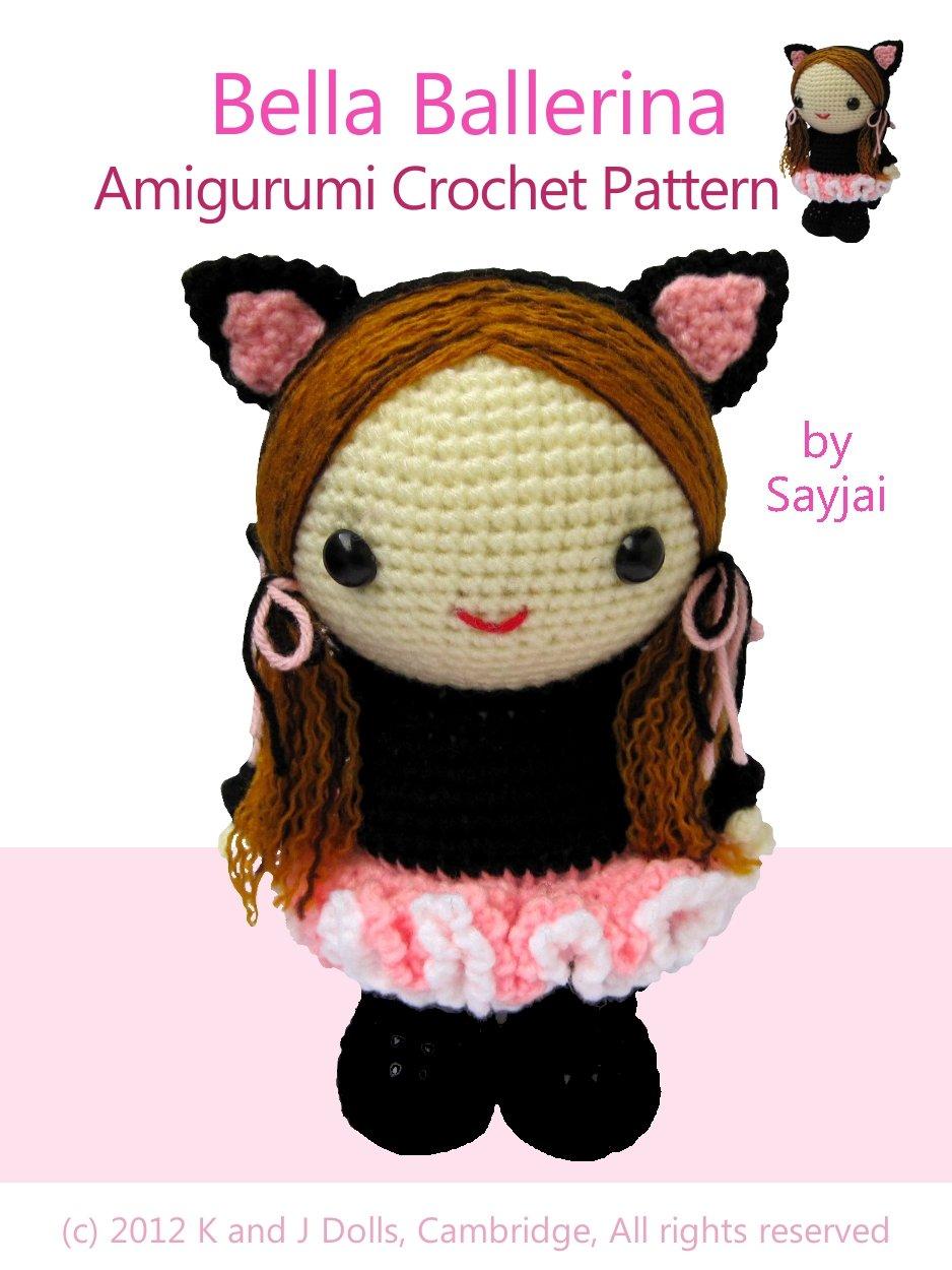 Tiny Bunny Brooch PATTERN Crochet Tutorial Instant | Etsy | 1250x938