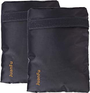 Set of 2 Outdoor Faucet Insulation Covers for Winter Freeze Protection, Protect Outside Water Spigot From Freezing (Black)
