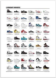 WALL EDITIONS Art-Poster 50 x 70 cm - Legendary Sneakers - Olivier Bourdereau