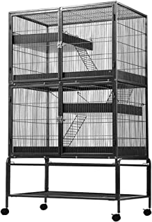 4 Levels Pet Cage Rabbit Hutch Cat Hamster Guinea Pig Ferret Chinchilla House