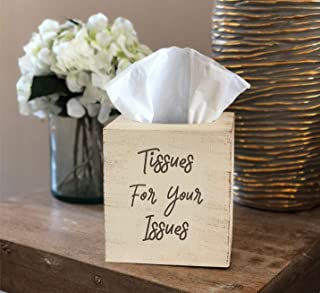 Tissues For Your Issues Tissue Box ~ Distressed