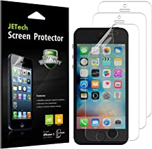JETech Screen Protector for Apple iPhone SE 5s 5c 5, PET, 3-Pack