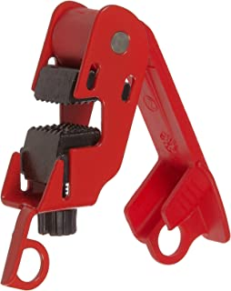 perfk 20 Pieces Universal Circuit Breaker Lockout Red With Twisted Screw