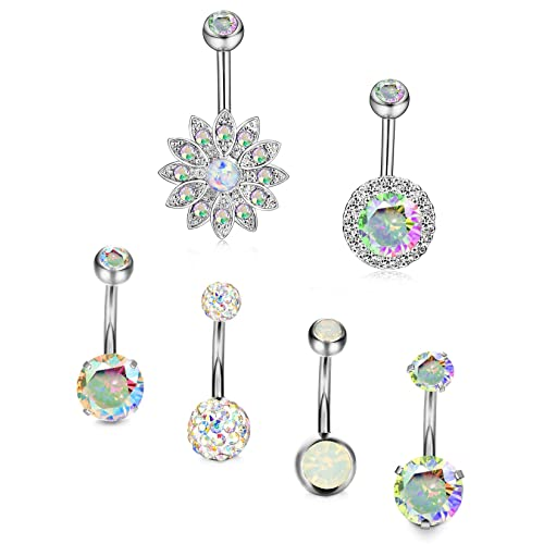Plastic Belly Button Rings Amazon Com