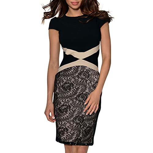 Vestiti Eleganti Amazon.Abito Donna Elegante Corto Amazon It