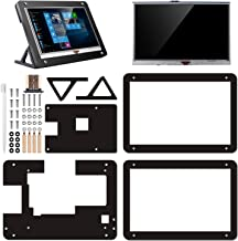 kuman 5 inch Resistive Touch Screen with Protective Case 800x480 HDMI TFT LCD Display Module for Raspberry Pi 3B+/3B 2 Model B RPi 1 B B+ A A+ SC5AC (5 inch Raspberry pi Display with Protection case)