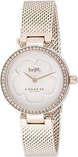 Coach | Women's Park | Rose Gold Mesh | Flower Dial | 14503511