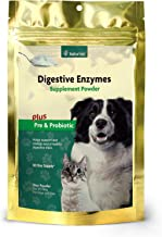 NaturVet – Digestive Enzymes - Plus Probiotics & Prebiotics – Helps Support Diet Change & A Healthy Digestive Tract – for Dogs & Cats