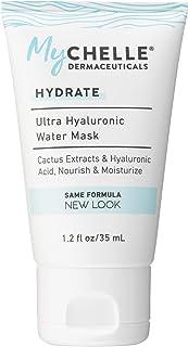 Mychelle Dermaceuticals Ultra Hyaluronic Water Exfoliator Mask, Nourish & Moisturize, 1.2 Fl Ounce