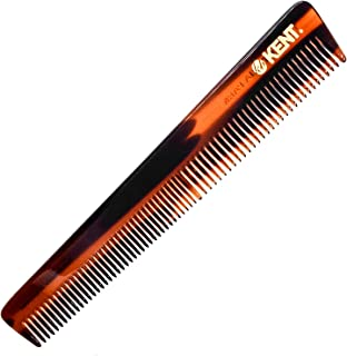 Kent 4T 6 Inch Limited Edition Double Tooth Hair Dressing Comb, Fine Wide Tooth Dresser Comb For Hair, Beard and Mustache,...