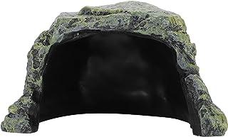 Fdit Kryjówki gadów, Taras z żółwiem, gadami unikaj jaskiń, jaskinia schroniska gad z żywicy, schronienie pająka skorpiona