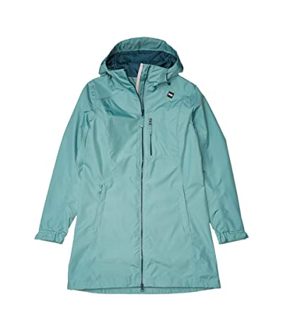 Helly Hansen Long Belfast Jacket (Jade) Women