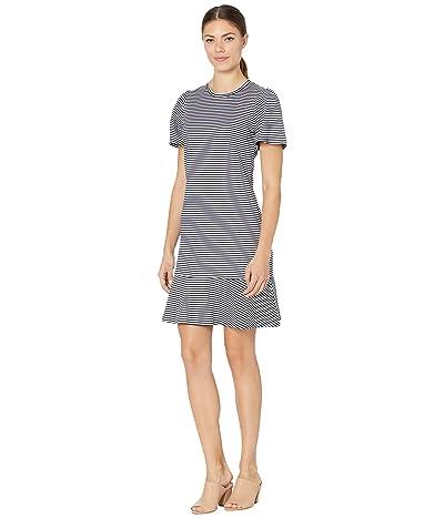 MICHAEL Michael Kors Stripe Flutter Sleeve Dress Women