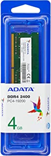 ADATA, Ad4S2400J4G17-S, Memoria RAM Premier 4GB DDR4 SO-DIMM 2400 MHz PC4-19200 CL17, Non-EC