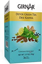Girnar Detox Green Tea - Desi Kahwa (36 Tea Bags)