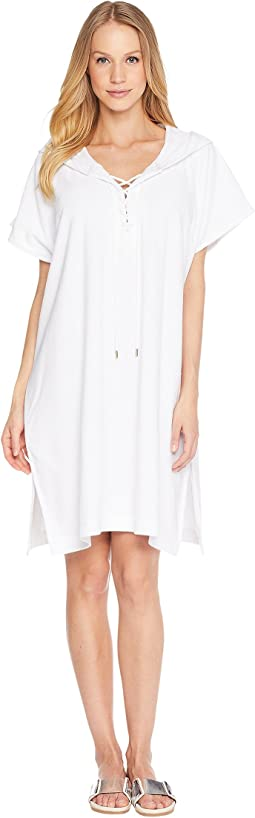 Dawn to Dusk Terry Sleeveless Cover-Up