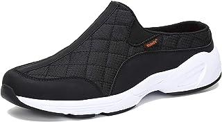Voovix Men's Women's Mules Casual Slip-On Shoes