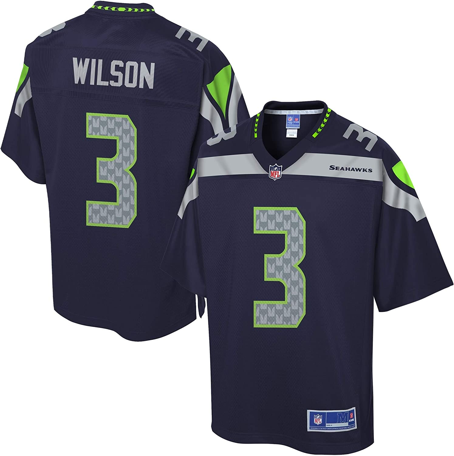 NFL PRO LINE Men's Mail order cheap Russell Seattle Ranking TOP20 Navy Seahawks College Wilson