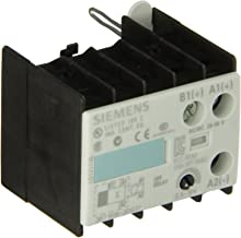 Siemens 3RT19 16-2DG21 Solid State Time Delay Block, Semiconductor Output, Off Delay, Varistor Integrated, S00 Size, 0.5 - 10s Time Setting Range, 24-66VAC/VDC Rated Control Supply Voltage