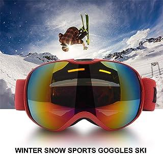 0e92405764 MASO - Gafas de esquí para niños y niñas (protección UV400, Resistente al  Viento
