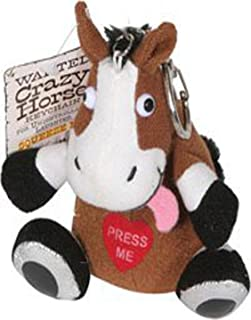 Just For Laughs Crazy Animals Keychain Horse