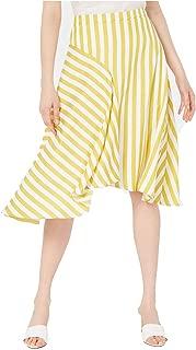 Lucy Paris Women's Maya Striped Skirt