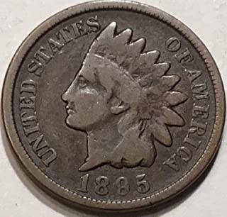 1895 Indian Head Cent Penny Very Good