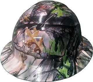 Izzo Graphics Camo Pyramex Ridgeline Full Brim Hard Hat