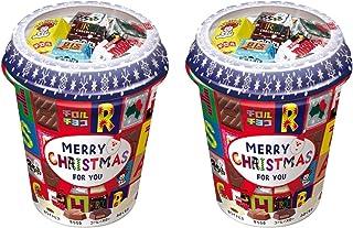 【まとめ買い】チロルチョコ クリスマスカップ (40個入)×2