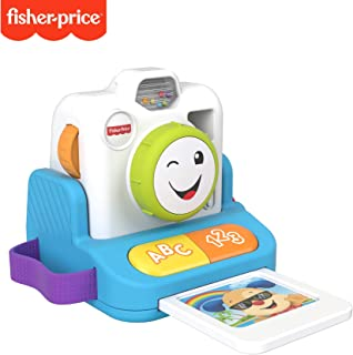 Fisher-Price Laugh & Learn Click & Learn Instant Camera, Musical Toy